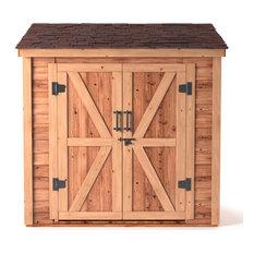 6'x4' Cedar Lean-to-Shed