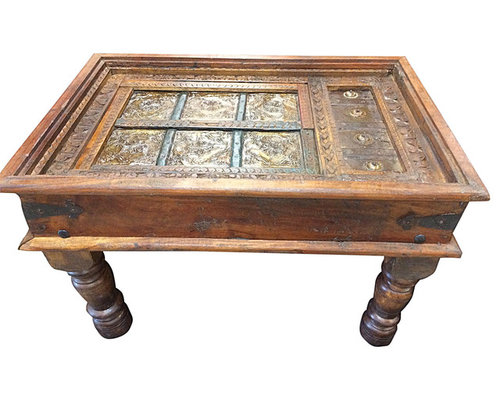 Indian Antique Furniture - Coffee Tables - Indian Antique Furniture