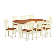 9-Piece Dining Room Set  Dining Table And 8 Dining Chairs
