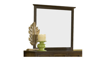 Modus Furniture Paragon Mirror in Truffle