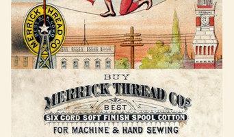 18x24 Merrick Thread Tight Rope Walker Victorian Advertising  Poster