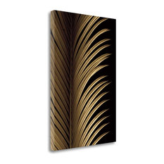 """""""Tropical Leaf Study I"""" By Andrew Levine, Giclee Print on Gallery Wrap Canvas"""