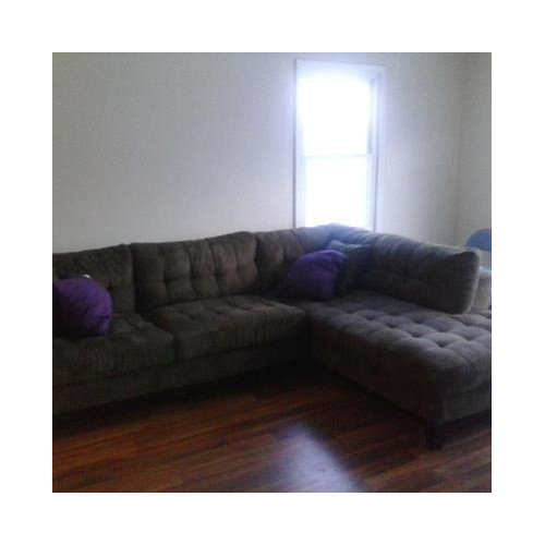 . Chocolate brown sectional decor ideas