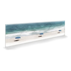 "Oliver Gal ""Under the Sun Love"" Canvas Art, 60""x20"""