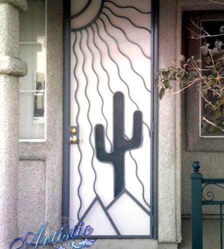 Desert Vista   Security Door   Front Doors