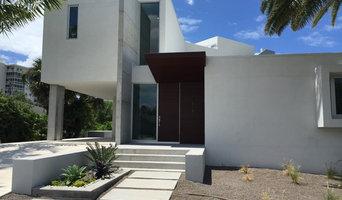 custom modern concrete construction