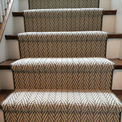 Stair Tread Material That Looks Great And Is Non Slip