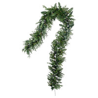 Serene Spaces Living Decorative 9ft Pine Garland With 200 LED Lights