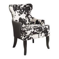 Angus Accent Chair, Black
