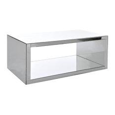 INSIDE 75 - Table basse CELESTINE en miroir. - Table Basse