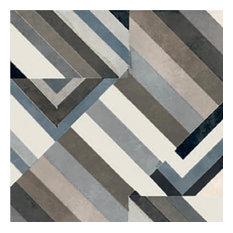 Azulej Prata, Black, Box of 24 Tiles