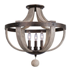 50 Most Popular Farmhouse Flush Mount Ceiling Lights For 2021 Houzz