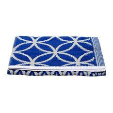 Njack Rug, Blue and White, 120x180 cm
