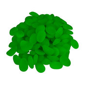 Glow-in-the-Dark Pebbles for Walkways and Decor, Pack of 100 by Pure Garden