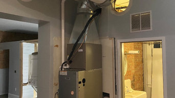 Relocate existing furnace in downtown loft