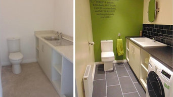 BEFORE AND AFTER UTILITY REFURBISHMENT