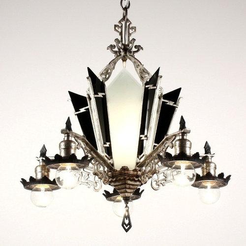 Vintage Art Deco Chandelier Chandeliers Design – Art Deco Chandelier Lighting