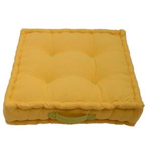 Jacky Plain Box Garden Cushion, Gold