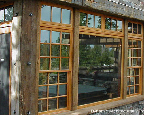 Double Rustic Windows : Rustic window projects