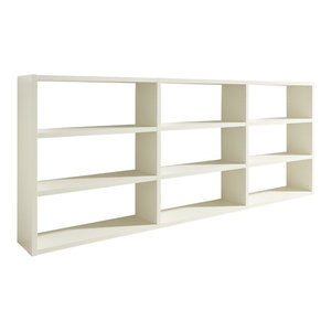 Torero Triple Shelf Sideboard, White