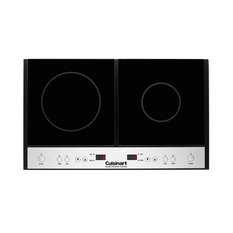 Double Induction Burner for Countertop Use