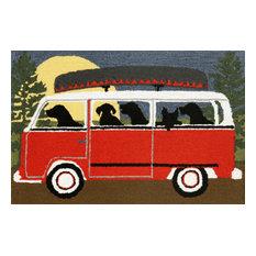 Liora Manne Frontporch Camping Trip Indoor/Outdoor Rug, 2'6'x4'