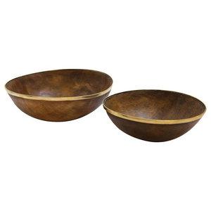 A.U. Maison Ox Horn Bowl, Set of 2, 20 cm