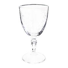 Maisons du monde - Bicchiere da vino in vetro SPRING - Bicchieri da vino