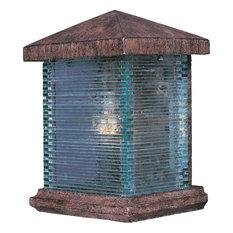 "Maxim 48732 Triumph 10"" 1 Light Wall Sconce - Earth Tone / Clear Glass"