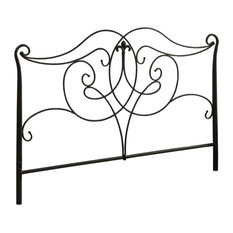 1.25-inch X 61.5-inch X 50-inch Satin Black/Full Or Queen Size - Headboard Or Footboard
