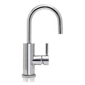 Milano For710SN Forza Deck Mounted 1-Hole Kitchen Faucet, Satin Nickel