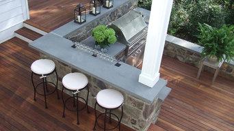 Cottage Outdoor Kitchen