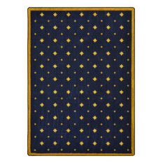 """Any Day Matinee Rug, Walk of Fame, Navy, 7'8""""x10'9"""""""