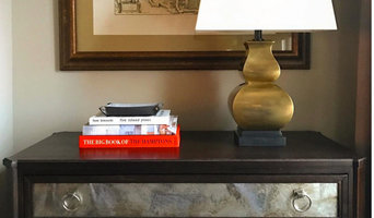 VANGUARD FURNITURE CHEST & VISUAL COMFORT LAMP
