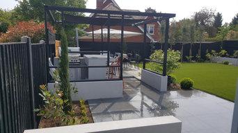 Large Contemporary Garden Design & Build