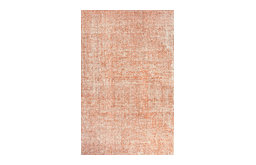 Jaipur Rugs Britta 8'x10' Hand Tufted Wool Rug, Ivory and Orange