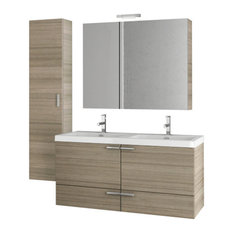 "47"" Larch Canapa Bathroom Vanity Set"