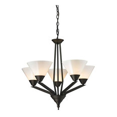 Tribecca 5-Light Chandelier, Oil Rubbed Bronze