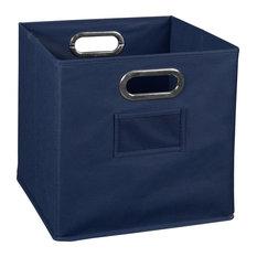 Niche Cubo Foldable Fabric Storage Bin- Blue