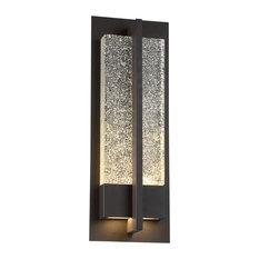 "Modern Forms Omni LED Wall Light, Bronze, 20"""
