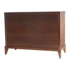 Miami 3 Drawer Mahogany Dresser