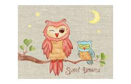 Sweet Dreams Baby Owl Painting