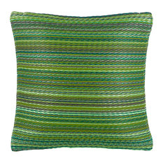 "Outdoor Accent Pillow Cancun Green, 16.5""x16.5"""