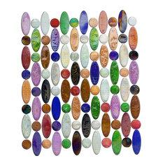 """12""""x12"""" Rainbow Love Beads, Full Sheet"""
