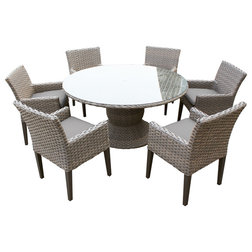 Fancy Tropical Outdoor Dining Sets by Design Furnishings