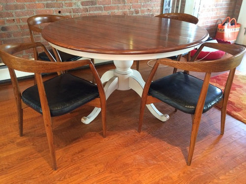How Can I Raise The Seat Height Of My Mid Century Dining Chairs