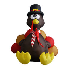 Thanksgiving Inflatable Turkey, 6'