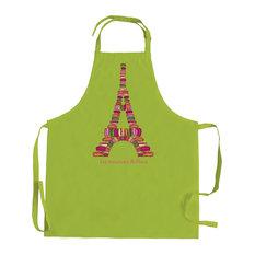 Apron Macaron de Paris Green