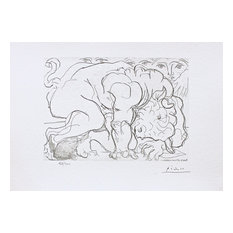 Dying Minotaur, Limited Edition, Lithograph, Pablo Picasso-Vollard