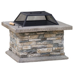 Farmhouse Fire Pits by GDFStudio